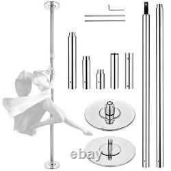 45MM AW 10 FT Stripper Static Dancing Pole Kit for Fitness Club Exercise Party