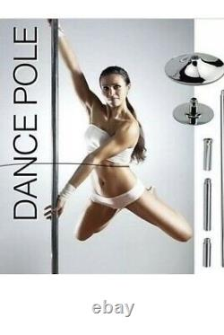 45mm Dance Pole Portable Exercise Static And Spinning Home Gym Dancing Fitness