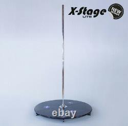 45mm X-POLE X-STAGE Lite Dance / Fitness Pole Brass / Manufacturers Guarantee