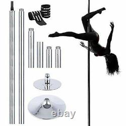 9.4FT Professional Stripper Pole Spinning Static Dancing Pole Portable Dance