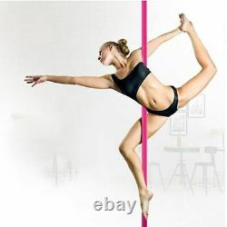 Dancing Training Pole Adjustable 360 Spin Detachable Portable Pipe Dance Tubes