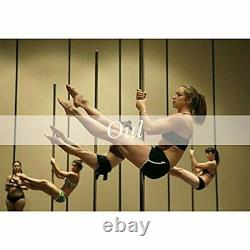 Oul Professional Stripper Pole Spinning Static Dancing Pole Portable Removabl