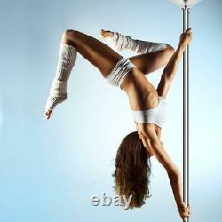 Pole Dance Spin 360 Stripper 45mm Removable Home Fitness Exercise Training Kits