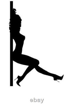 Pole Dancer Sexy Dancing Woman Lady Girl Hot Decal Wall Sticker Picture