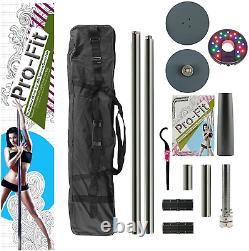 Pro-Fit 45mm Professional Portable Spinning Dance Pole
