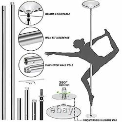 Professional Dancing Pole Portable Stripper Pole, Adjustable Home Spinning