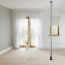 Professional Stripper Pole Spinning Static Dancing Pole Portable Removable 8.5 f