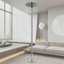 Stripper Pole Professional Spinning and Static Dance Pole Heavy Duty Silver
