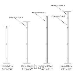 TheLaShop 45mm Spinning Static Dancing Pole Removable 45mm