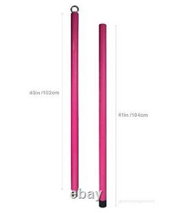 Orkis Flying Silicone Pole 2m Détachable Aerial Dance Home Fitness Rose