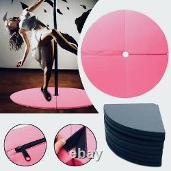 Pole Dance Mat Skid-proof Fitness Waterproof Thickened Round Exercise 120x10cm Pole Dance Mat Skid-proof Fitness Waterproof Thickened Round Exercise 120x10cm Pole Dance Mat Skid-proof Fitness Waterproof Thickened Round Exercise 120x10cm Pole Dance