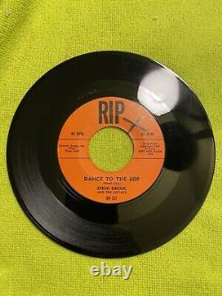 Steve Drexel Hot Rod Gang Dance To The Bop/ Baby Blue 45rpm-rip131 Withslv Rare